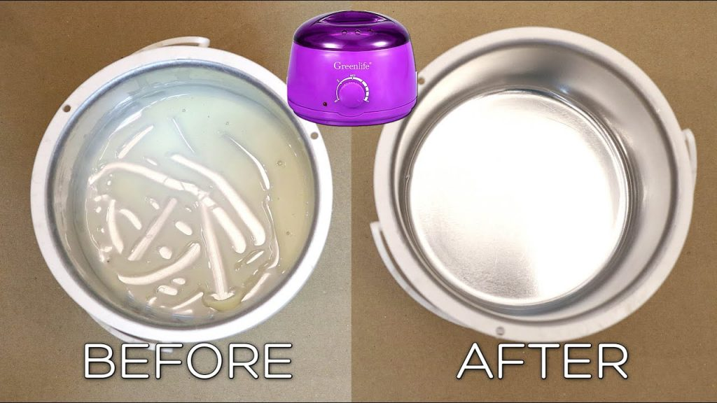 clean wax burners