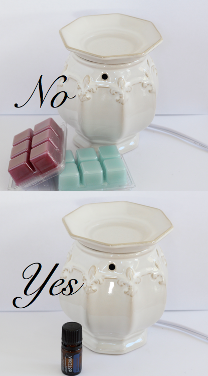 difference between a wax burner and a candle burner?