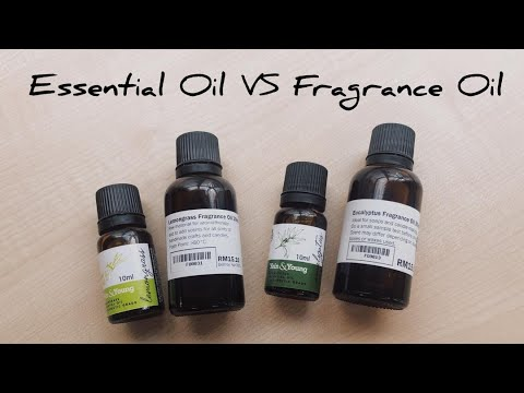 Fragrance Oil Vs. Essential Oil: Main Difference
