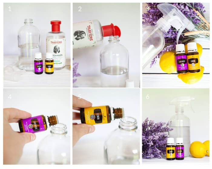 Make an air freshener spray