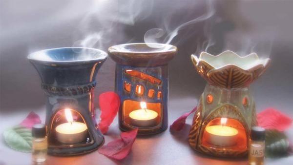 Use a fragrance oil burner